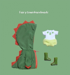 The little dinosaur raincoat suit for Holala【three colors】