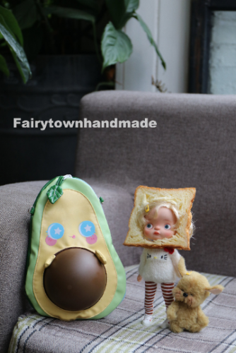 Avocado Doll Carrier Shoulder Bag