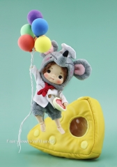 Cheese Mouse Chef Set  [Preorder]