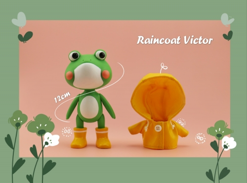 The Little raincoat frog