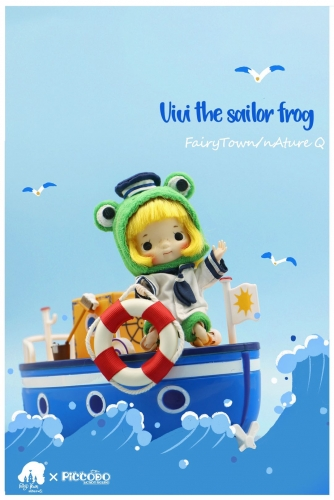 Frog little sailor doll Vivi